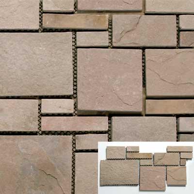 Solistone Versailles Slate 25 x 12 Antoinette Tile & Stone