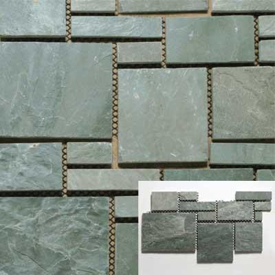 Solistone Versailles Slate 25 x 12 Chateau Tile & Stone