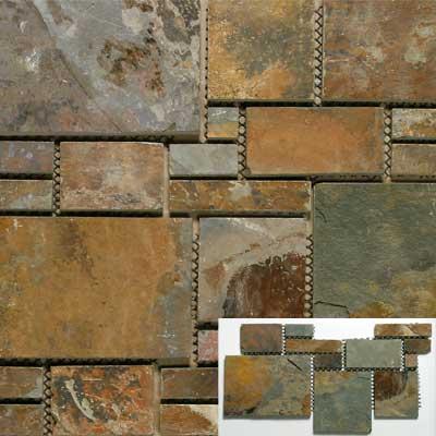 Solistone Versailles Slate 25 x 12 Trianon Tile & Stone