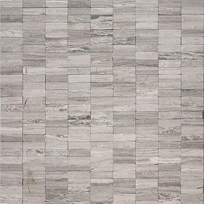 Solistone Haisa Marble Flat Stacked 12 x 12 Haisa Light Flat Stacked Tile & Stone