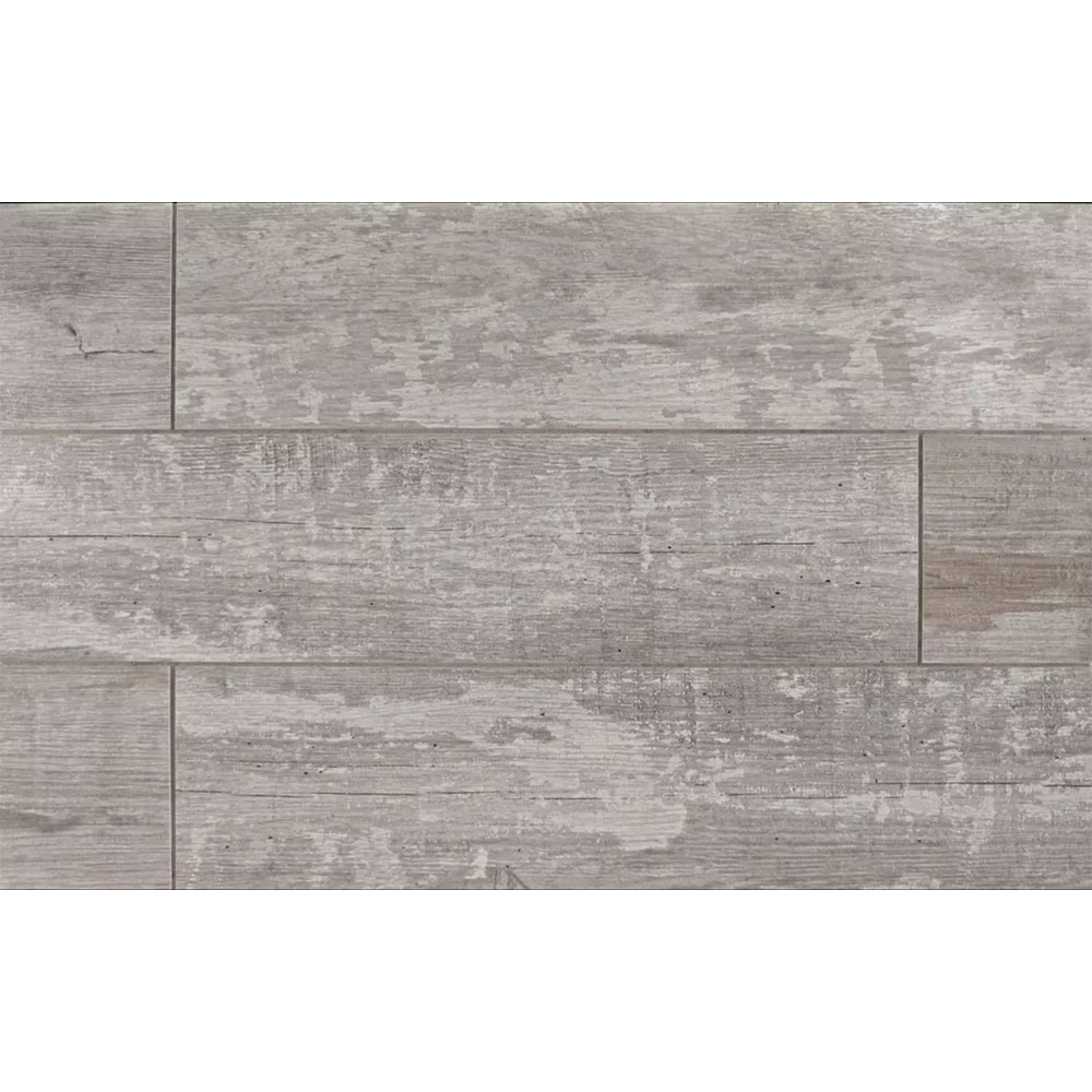 Stone Peak Crate 6 x 24 Weathered Board Tile & Stone