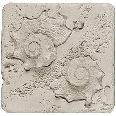 Tesoro Composite Molding Insert Fossil Shell Conch Tile & Stone