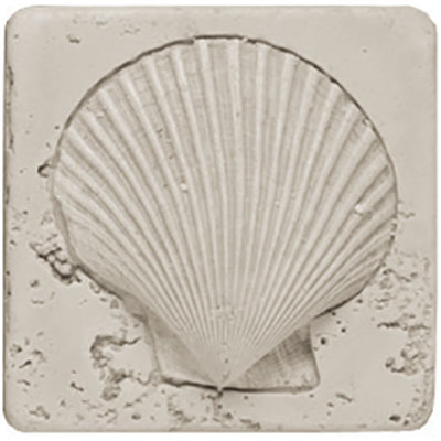 Tesoro Composite Molding Insert Fossil Shell Scallop Tile & Stone