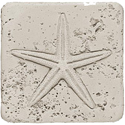 Tesoro Composite Molding Insert Fossil Shell Starfish Tile & Stone