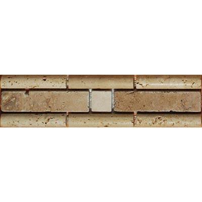 Tesoro Decorative Collection - Samsun 2.5 x 9 Listello Beige Noce #92 Tile & Stone