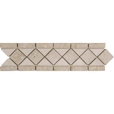 Tesoro Decorative Collection - Tuscano 3 x 12 Listello Classic Noce Ivory Tile & Stone
