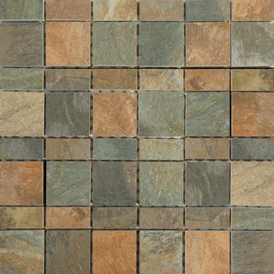 Tesoro Delhi Mixed Mosaic Delhi Mix Mosaic Tile & Stone