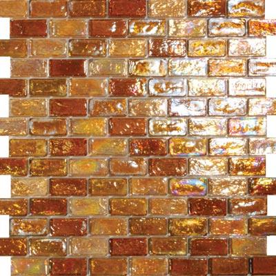 Tesoro Reflections Blends - 1 x 2 Mosaic #13 Jazzy/Serendipity/3 Tile & Stone