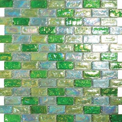 Tesoro Reflections Blends - 1 x 2 Mosaic #15 Toumaline/2/1 Tile & Stone