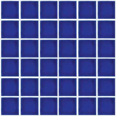Tesoro Harmony 2 x 2 Mosaic Electric Blue Tile & Stone