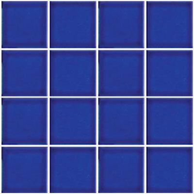 Tesoro Harmony 3 x 3 Mosaic Electric Blue Tile & Stone