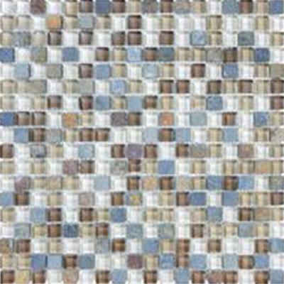 Tesoro Stone & Glass - Mini Mosaics #17 Tile & Stone