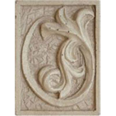 Tesoro Decorative Collection - Inserts 3 x 4 Primavera Harvest Ivory Insert Tile & Stone