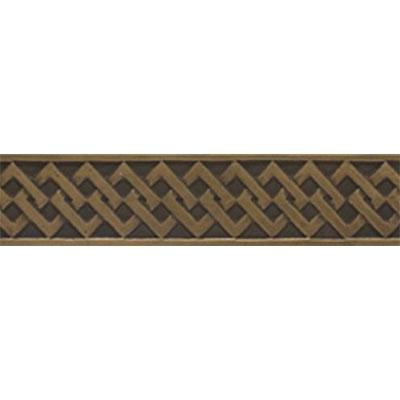 Tesoro Decorative Collection - Listellos 2 x 10 Modern Bronze Listello Tile & Stone
