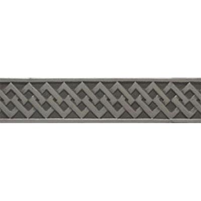 Tesoro Decorative Collection - Listellos 2 x 10 Modern Nickle Listello Tile & Stone