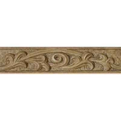 Tesoro Decorative Collection - Listellos 2 x 10 Primavera Harvest Ivory Listello Tile & Stone