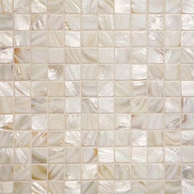 Tilecrest Shell 1 x 1 Mosaic Oyster Tile & Stone