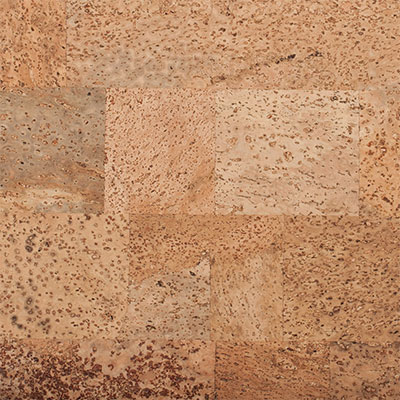 Carolina Cork Qu Cork 12 x 36 Natural With Brick Tiles Cork Flooring