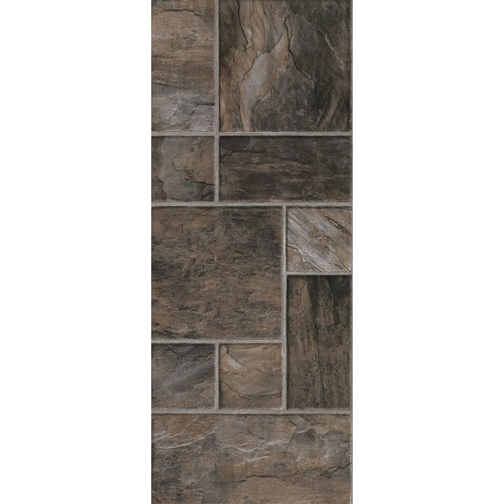 Armstrong Stones & Ceramics - Porto Alegre Steel (Sample) Laminate Flooring