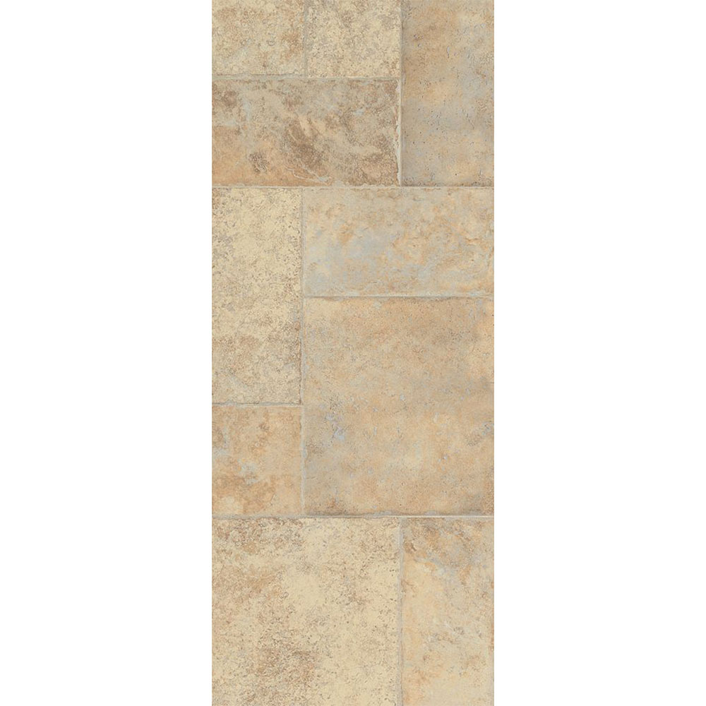 Armstrong Stones & Ceramics - Weathered Way Antique Cream (Sample) Laminate Flooring