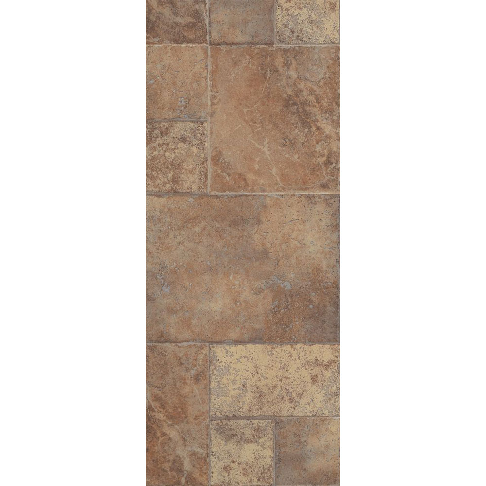 Armstrong Stones & Ceramics - Weathered Way Earthen Copper Laminate Flooring