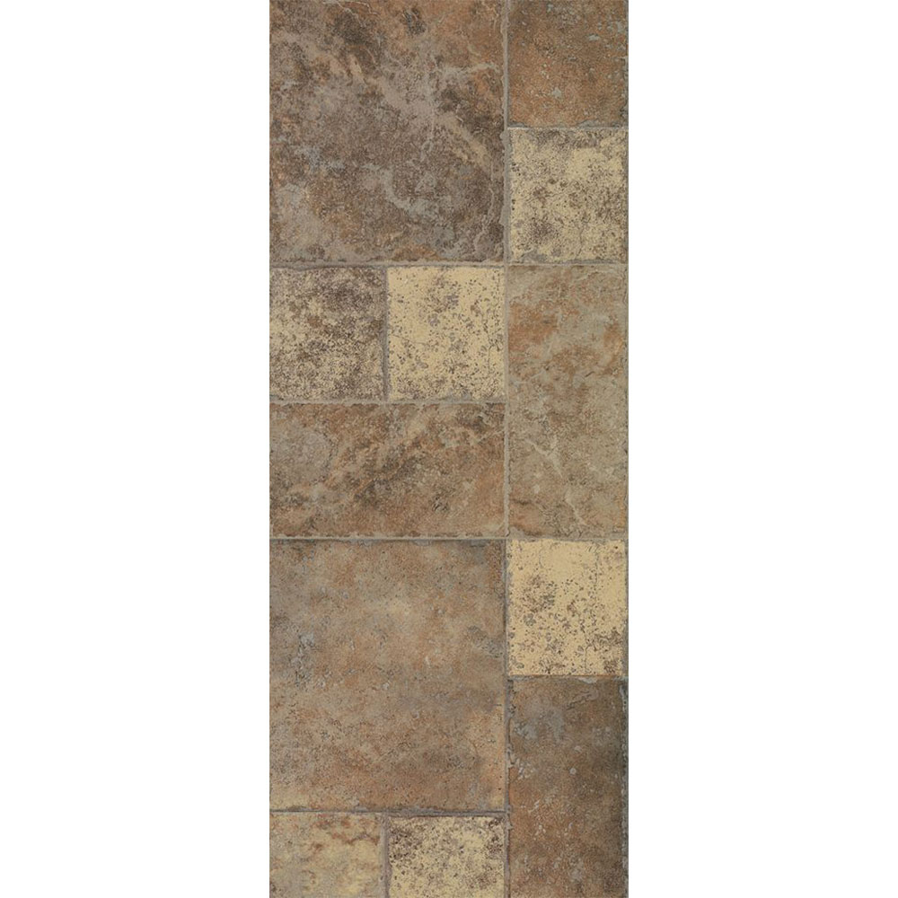 Armstrong Stones & Ceramics - Weathered Way Euro Terrracotta (Sample) Laminate Flooring