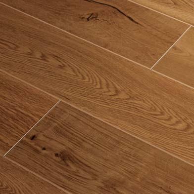 Tarkett Trends 12 Factor 6 Random Widths Cabana Brown Laminate Flooring