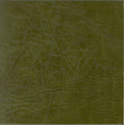 EcoDomo Echelon Tile 18x18 Buffalo Emerald Leather Flooring