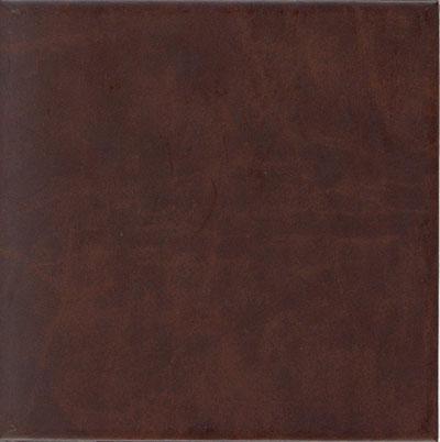 EcoDomo Echelon Tile 18x18 Buffalo Mahogany Leather Flooring