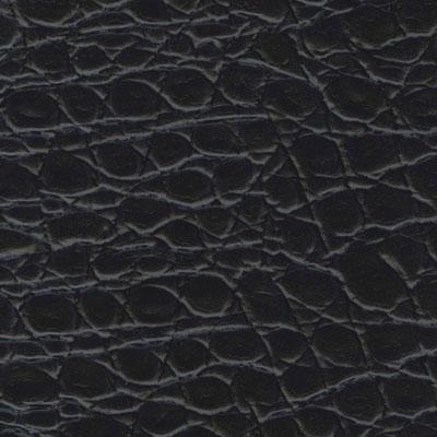 EcoDomo Rainforest Tiles Alligator Noir Leather Flooring