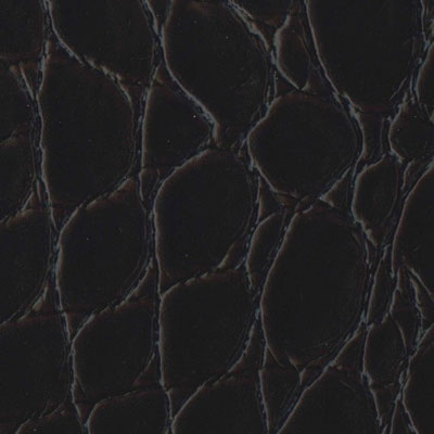 EcoDomo Rainforest Tiles Jumbo Croc Merlot Leather Flooring