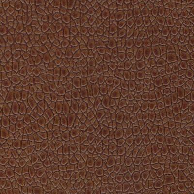 EcoDomo Rainforest Tiles Mini Croc Copper Leather Flooring