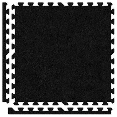 Alessco, Inc. Soft Carpets Black Inside Rubber Flooring