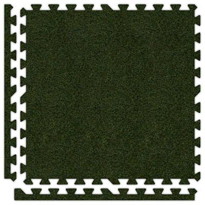 Alessco, Inc. Soft Carpets Grass Green Inside Rubber Flooring