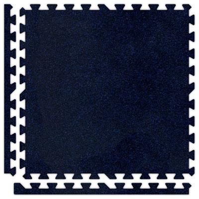 Alessco, Inc. Soft Carpets Navy Blue Inside Rubber Flooring