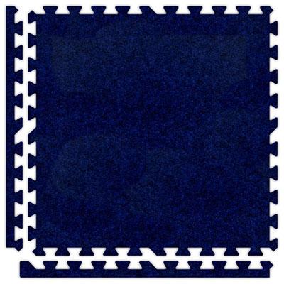 Alessco, Inc. Soft Carpets Royal Blue Inside Rubber Flooring