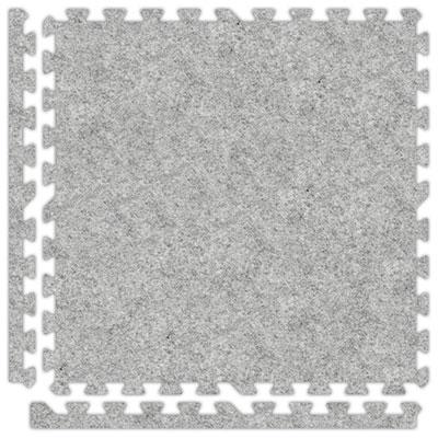 Alessco, Inc. Soft Carpets Smoke Inside Rubber Flooring