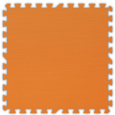 Alessco, Inc. Soft Floors Orange Inside Rubber Flooring
