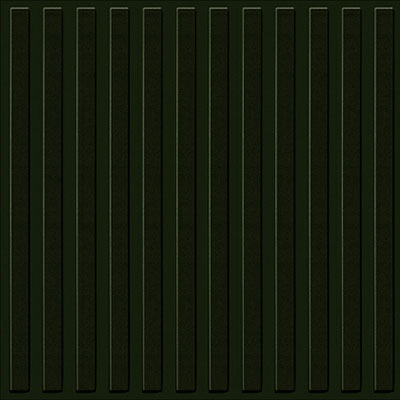 Mannington Audio Spectra Tic Toc 12 x 24 Night Black (Sample) Rubber Flooring