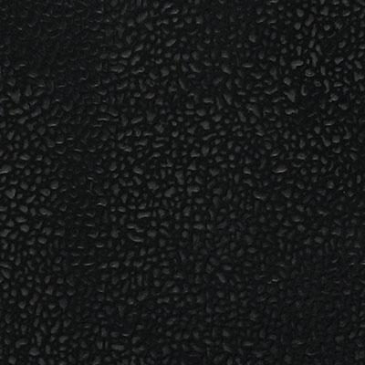 Mannington Enforcer Spike & Skate Sports Tile (Solid) 36 x 36 Night Black (Sample) Rubber Flooring