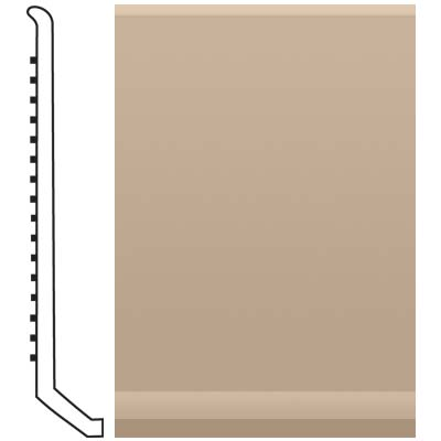 Roppe Pinnacle Rubber Butt Toe Base 4 Camel Rubber Flooring