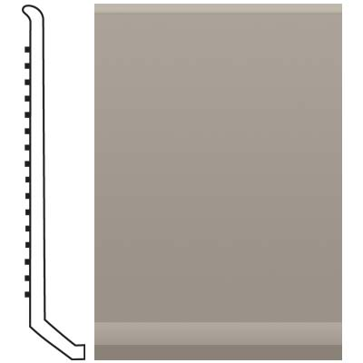 Roppe Pinnacle Rubber Butt Toe Base 4 Pewter Rubber Flooring