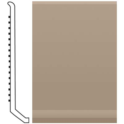 Roppe Pinnacle Rubber Butt Toe Base 4 Sand Stone Rubber Flooring