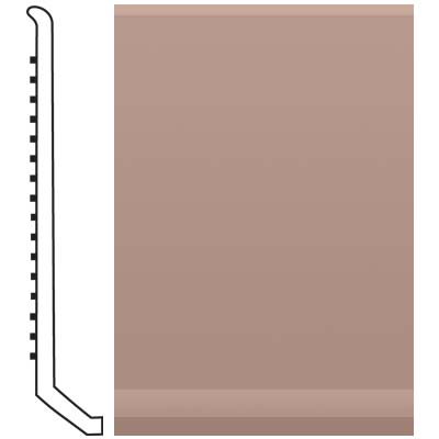 Roppe Pinnacle Rubber Butt Toe Base 4 Spice Rubber Flooring