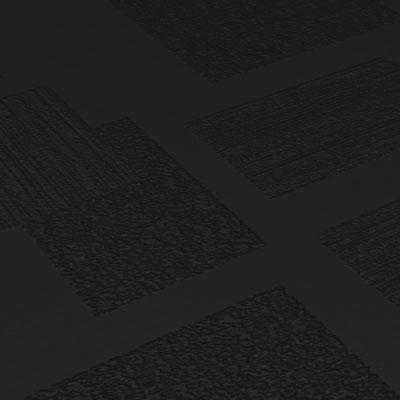 Roppe Dimensions Tile - Random Design Black Rubber Flooring