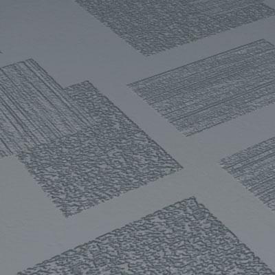 Roppe Dimensions Tile - Random Design Dark Grey Rubber Flooring