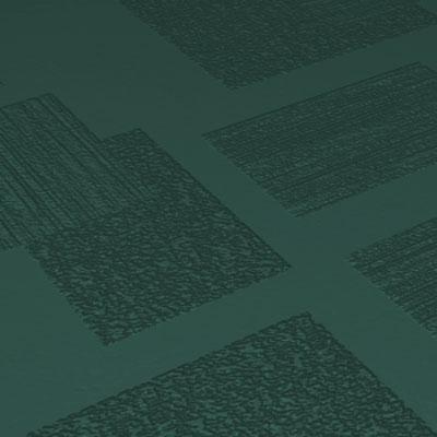Roppe Dimensions Tile - Random Design Forest Green Rubber Flooring