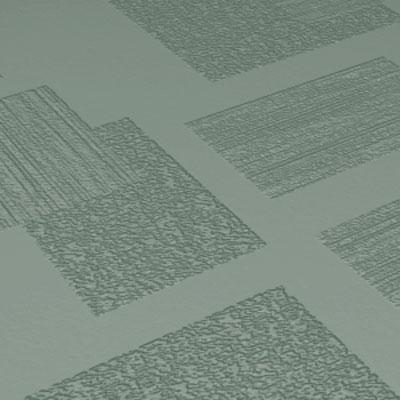 Roppe Dimensions Tile - Random Design Pistachio Rubber Flooring