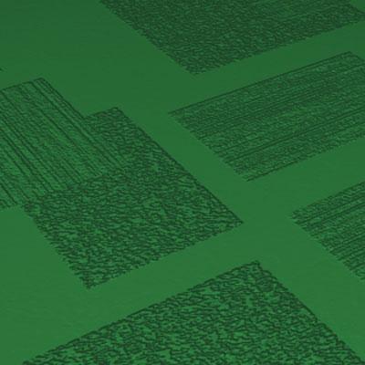 Roppe Dimensions Tile - Random Design Shamrock Rubber Flooring