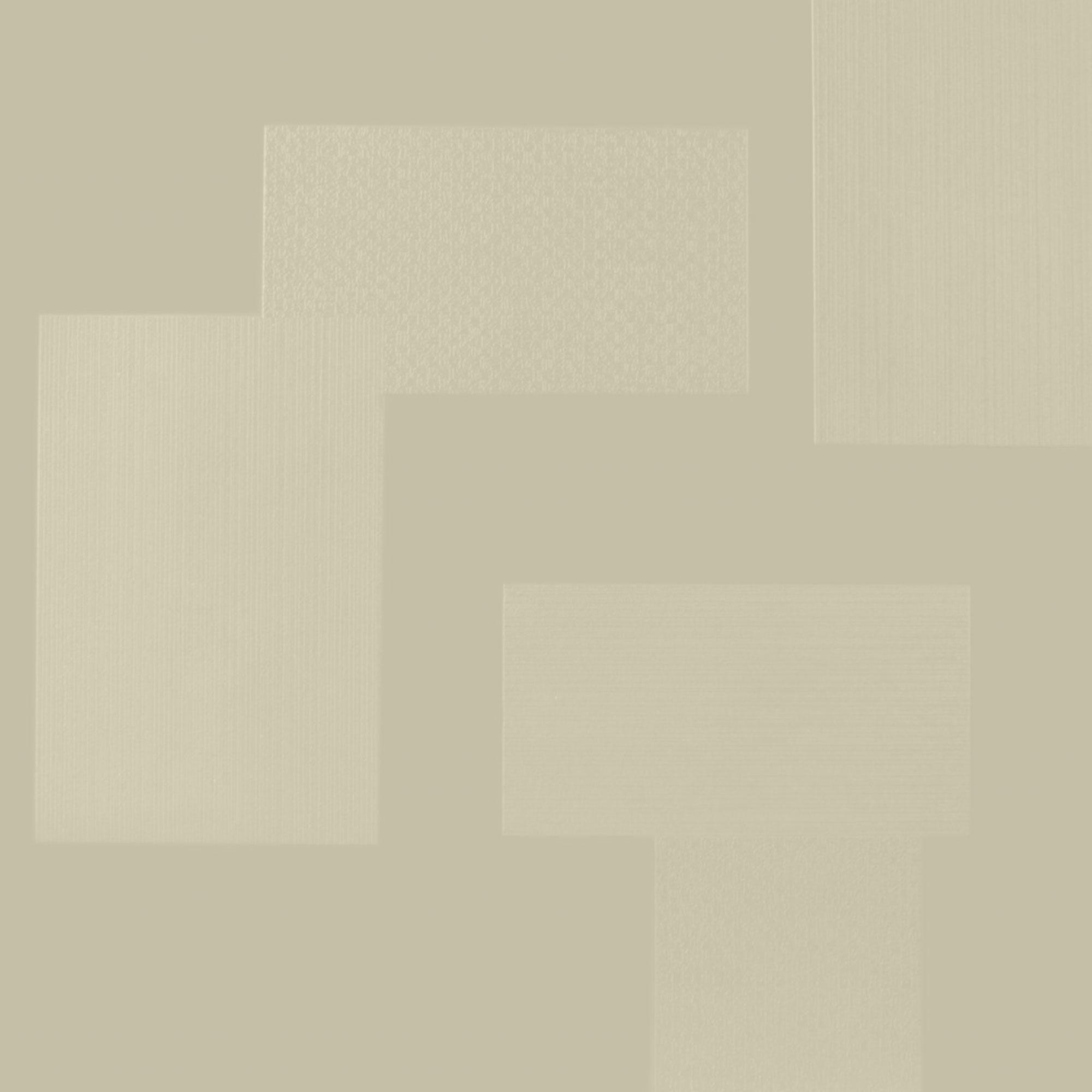 Roppe Dimensions Tile - Random Design Bisque Rubber Flooring